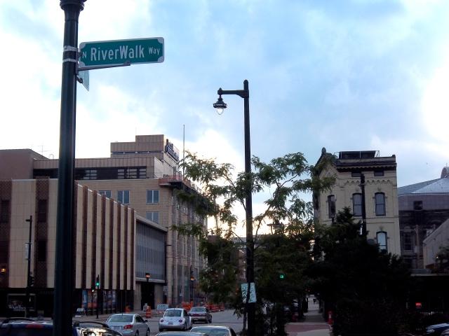 View of Riverwalk Way