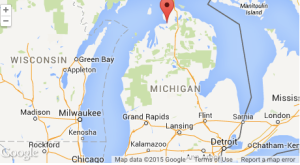 Google map-Michigan