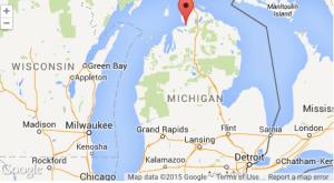 Google map-Michigan
