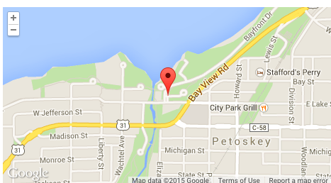 Googlel map-Petoskey