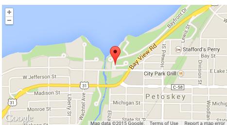 Googlel map-Petoskey